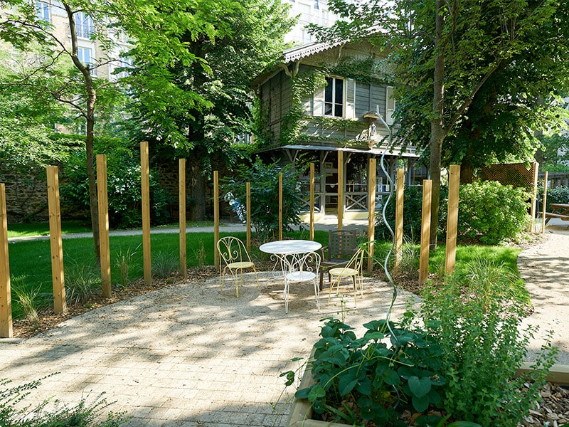 Jardin thérapeutique Jeanne Garnier